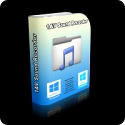 تحميل 1AV Sound Recorder 1.0.1 مجانا لادارة وتسجيل الصوت