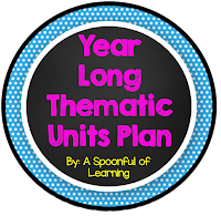 Year Long Thematic Units Plan and BUNDLES!!