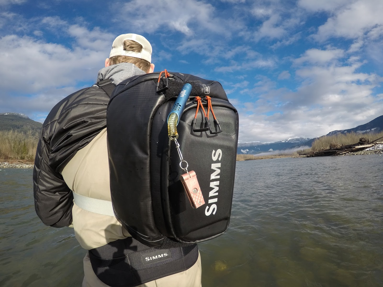 Simms g4 pro sling pack for Fly fishing sling pack