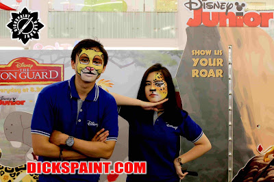 Face painting Animal Disney Jakarta