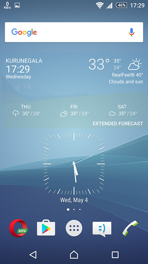 Xperia Weather 1.1.A.0.30beta
