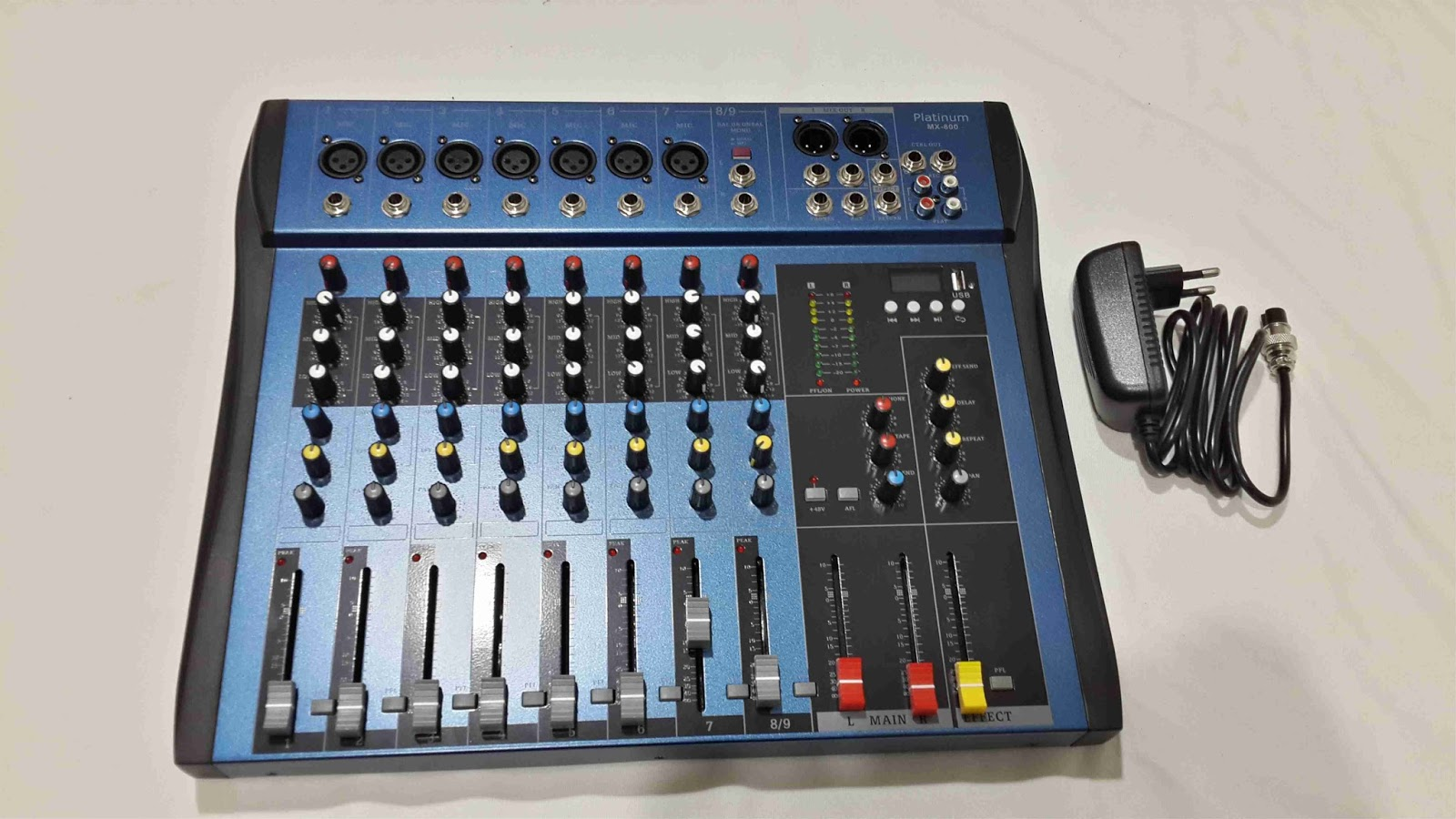 mixer 8 chanel mixer stereo 8 ch mixer analog 8 channel distributor dealer toko jual toa. Black Bedroom Furniture Sets. Home Design Ideas