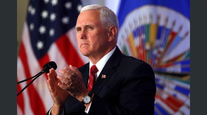 El vicepresidente de EEUU, Mike Pence / WEB