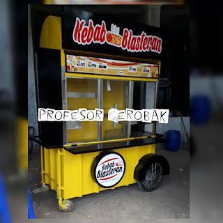 gerobak kebab murah