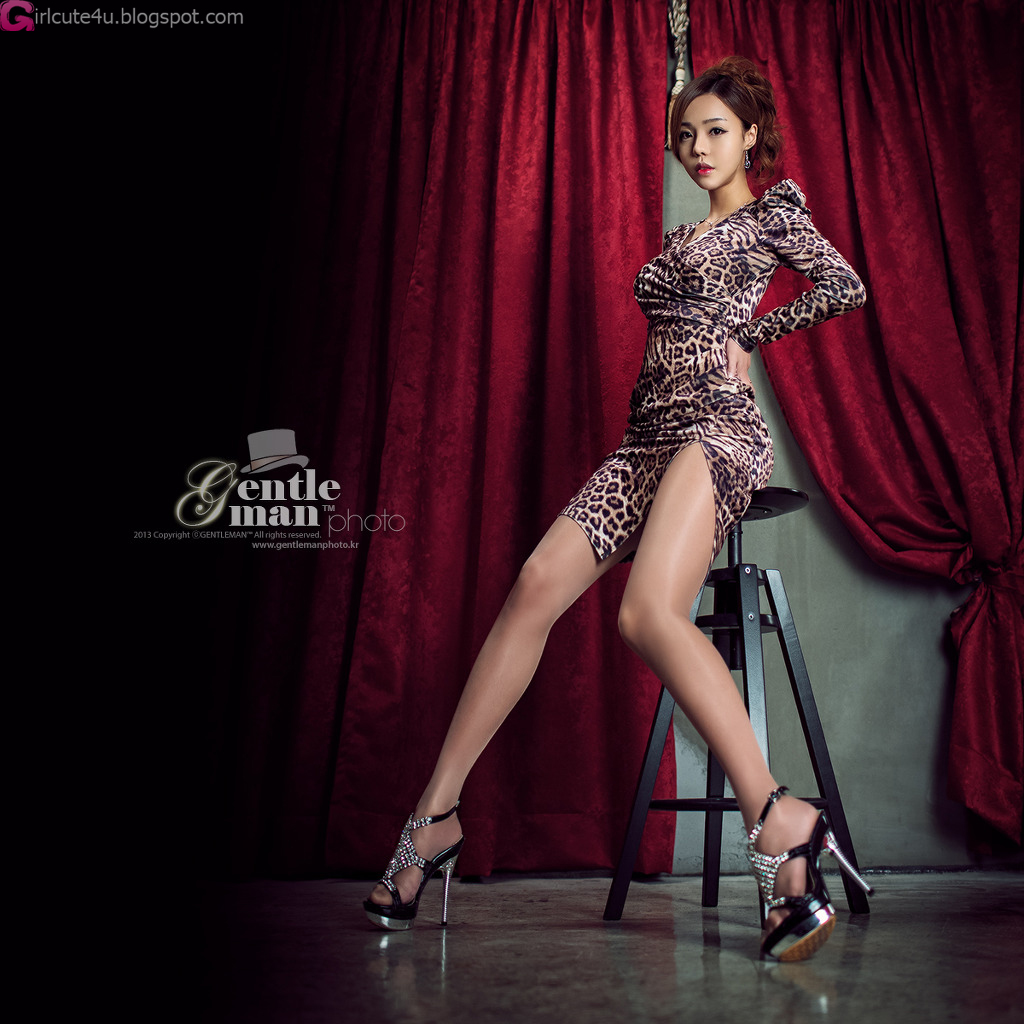 xxx nude girls: Leopard Girl - Seo Jin Ah