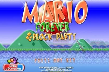 Game Mario Forever Block Party 2.0