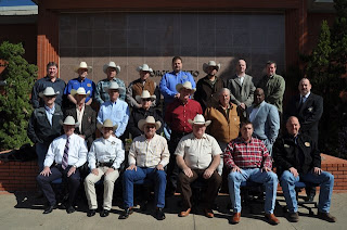 Sheriffs from 20 counties across Texas were trained on jail operations at CMIT.