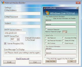 New Hacks, Generators and Cracks only: Download Hack Hotmail