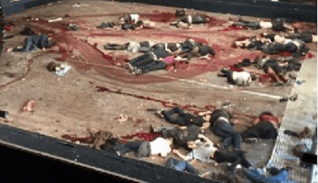 Artilleristrider vid gransen till irak