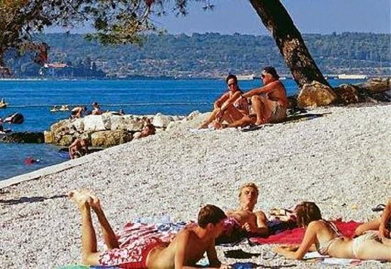 porec strand, porec, istrien, urlaub region istrien, kroatien urlaub, kroatien, istrien