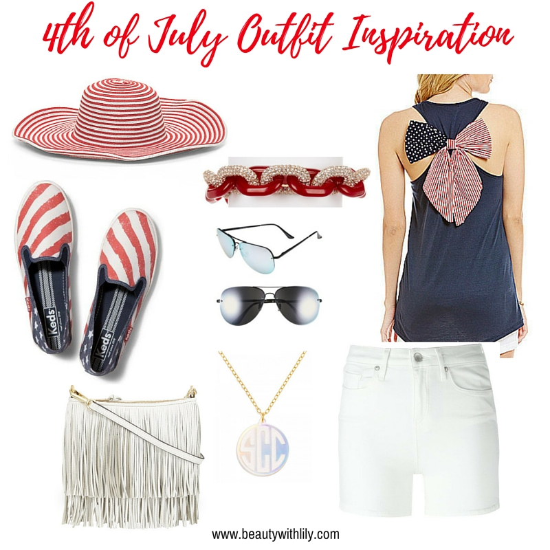 July 4th Outfit Ideas | Red & White Stripes