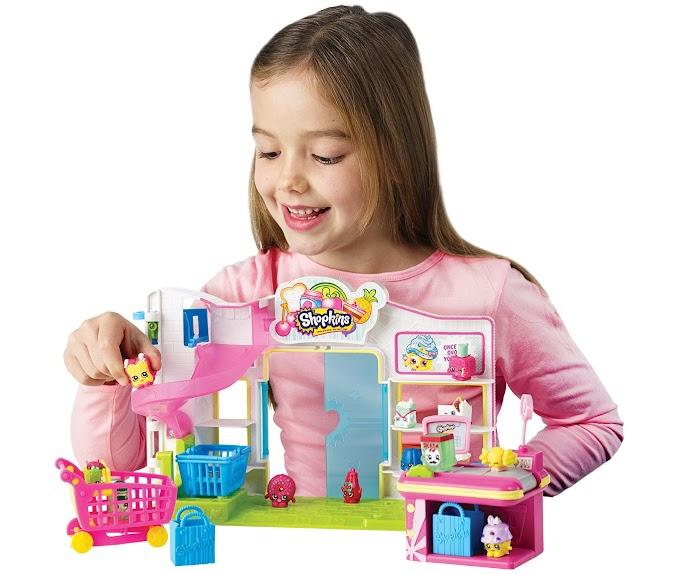 Shopkins đồ chơi cho bé gái đầy mê hoặc