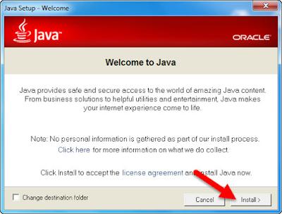 Hướng dẫn cài đặt Java Plugin theo các bước dưới đây: