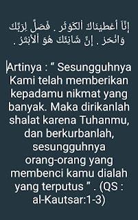 Ayat Al-Quran tentang qurban