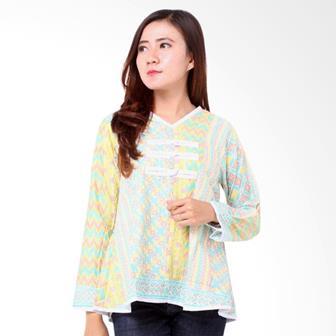 Contoh Blus Batik Modern