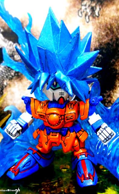 Gundam-family-goku-gundam-super-saiyan-god-super-saiyan