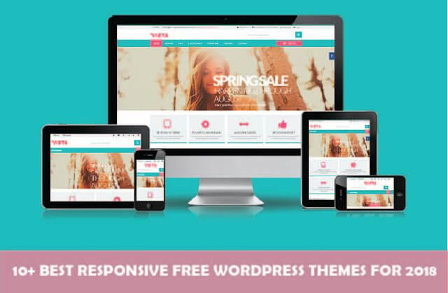 10 Best Responsive Free Wordpress Themes For 2018
