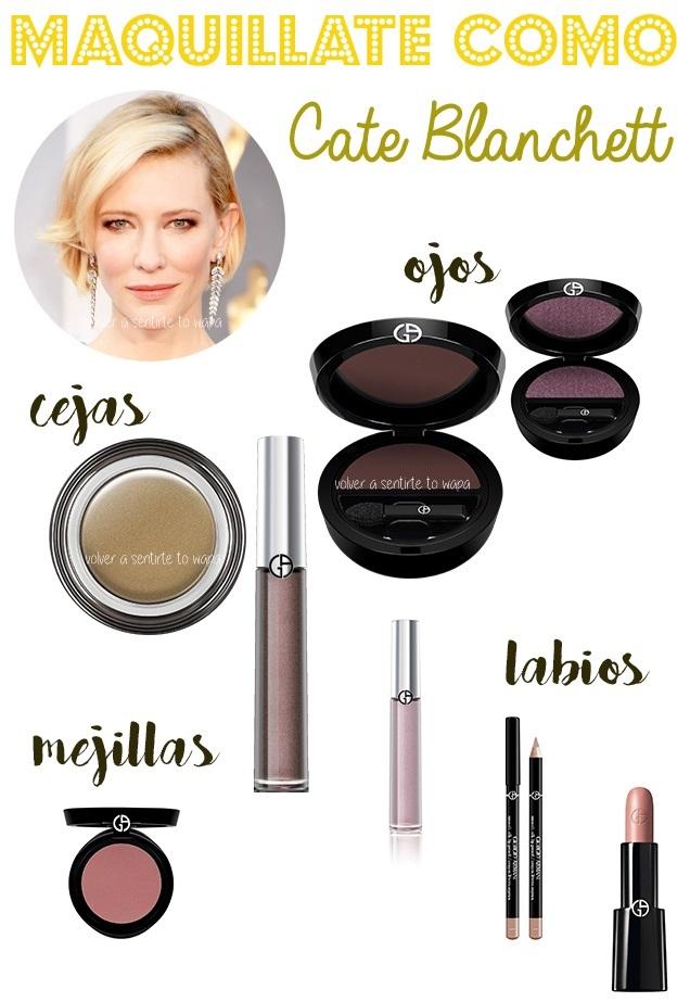 Cate Blanchett en los Oscar 2016