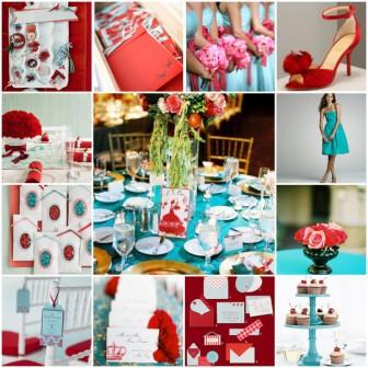 Summer Wedding Idea: Unique Wedding Color Combinations