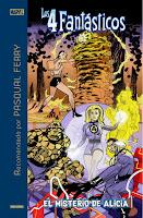 Marvel Recomendado por Pasqual Ferry. Los 4 Fantásticos: El misterio de Alicia