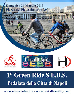 cycling naples old town unesco