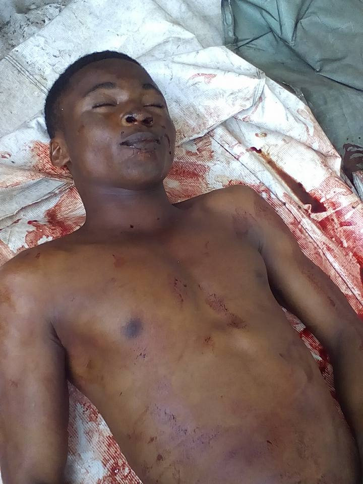 IPOB Teen Member Killed During Trump Rally In Port-Harcourt - Graphic Pics