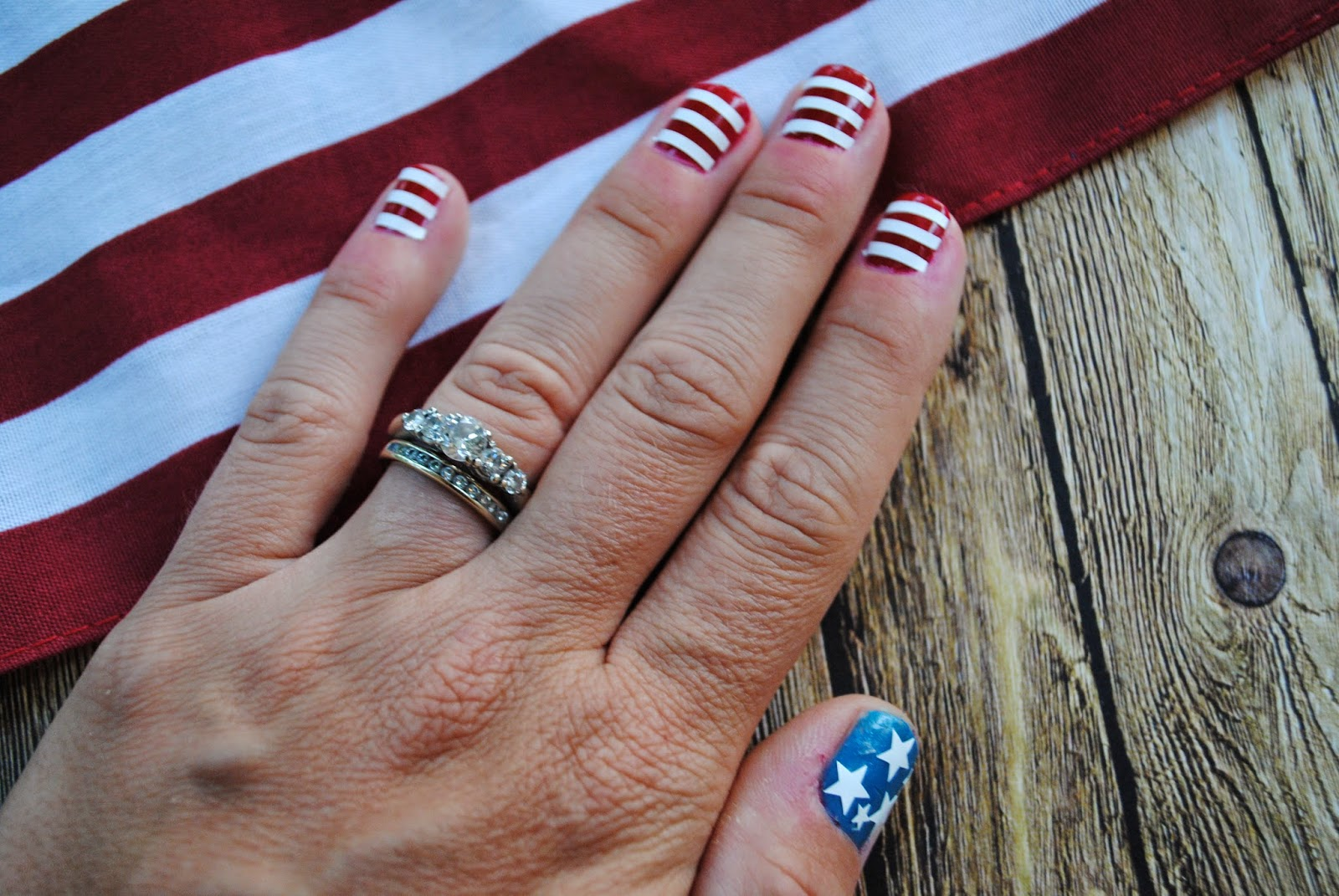 USA July 4 vinyl nail decals nails patriotic nails nail art