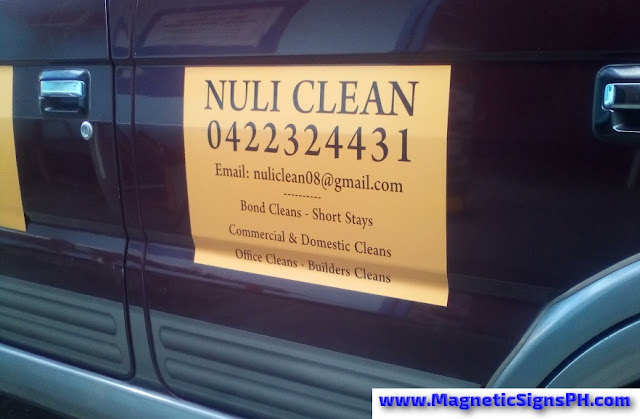 Vehicle Magnet - Nuli Clean
