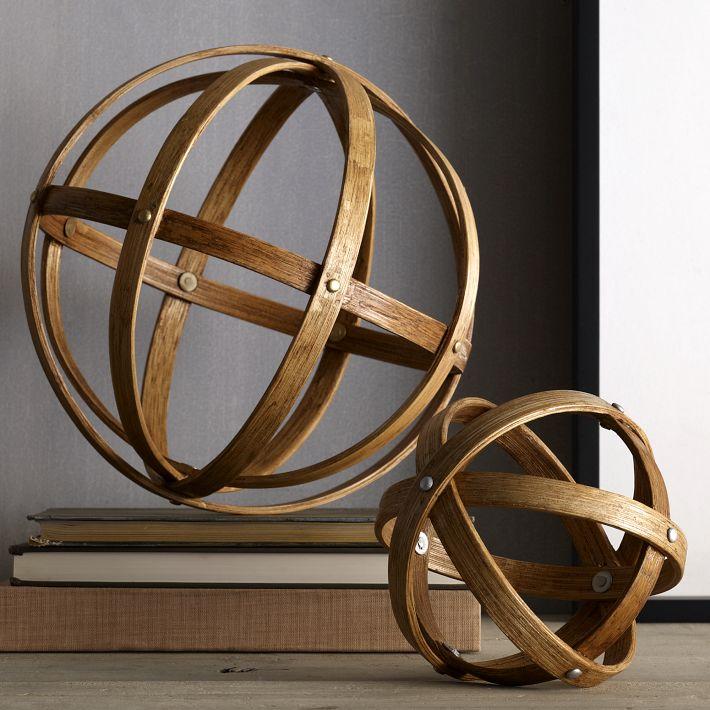 Retropolitan Diy Metal Decorative Spheres