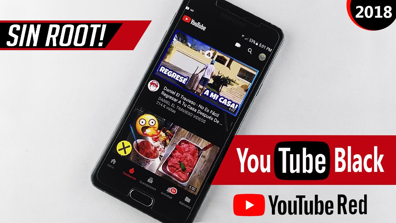 youtube black apk 2018 actualizado