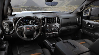 2020 GMC Sierra HD interior