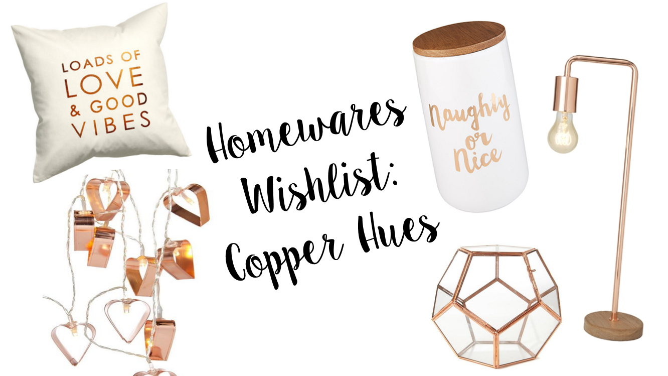 Homewares Wishlist: Copper Hues | Cate Renée