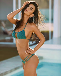 , Aww! Brazilian Hottest Model Emily Flaunts her waste on Bikini, Latest Nigeria News, Daily Devotionals & Celebrity Gossips - Chidispalace