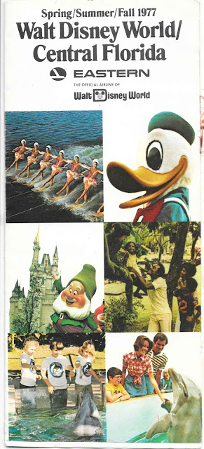 Walt Disney World Eastern Airlines Guide 1977