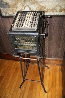 Adding machine de Burroughs