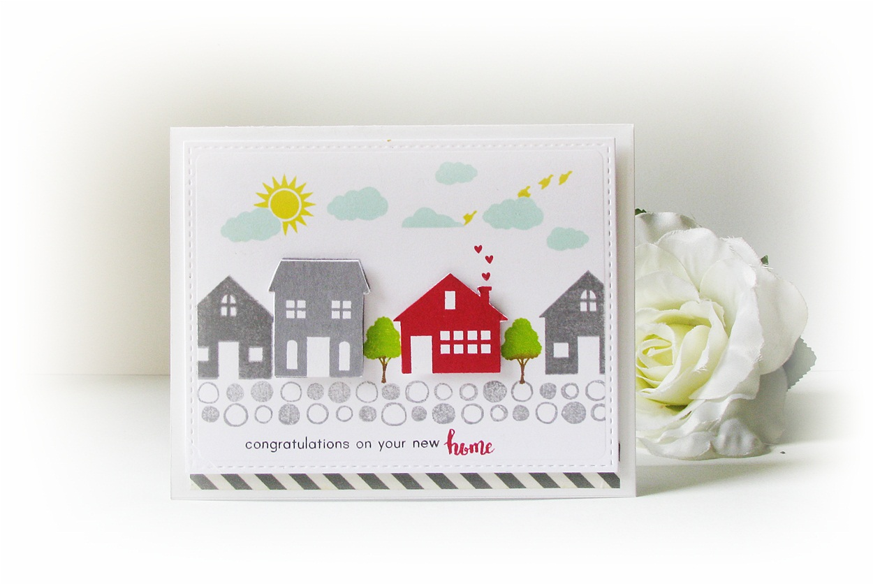 Quill And Punch Works Congratulations On Your New Home Card