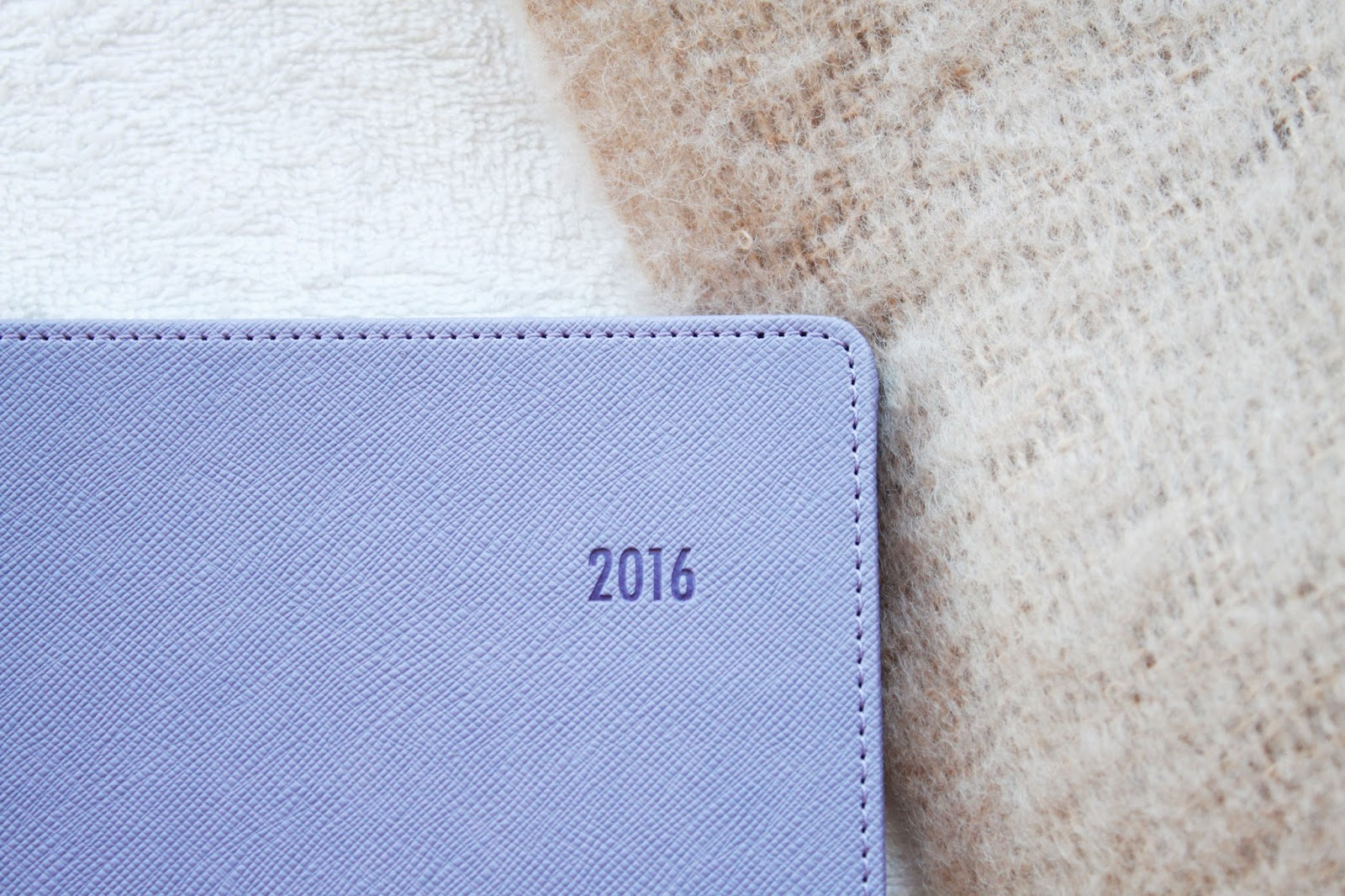 2016 Planner Diary