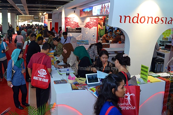 Matta Fair Indonesia Tourism