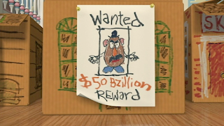 toy story wanted poster