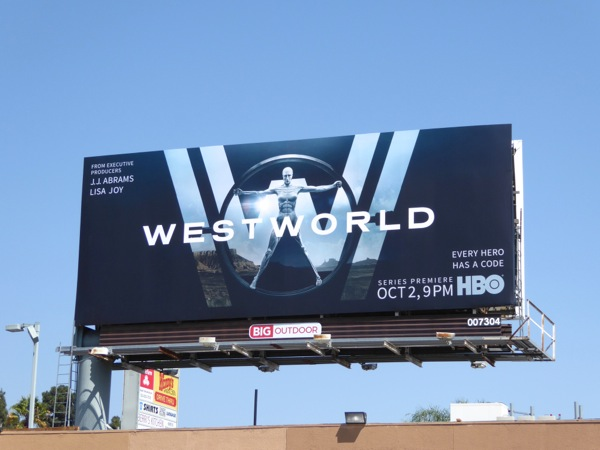 Westworld HBO remake billboard