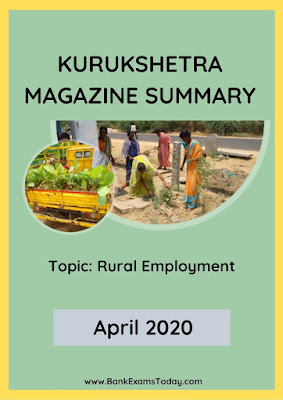 Kurukshetra Magazine Summary: April 2020