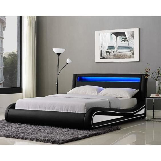 lit adulte avec sommier pas cher sommier pas cher. Black Bedroom Furniture Sets. Home Design Ideas