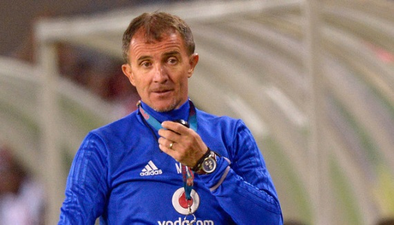 Milutin Sredojevic coach of Orlando Pirates