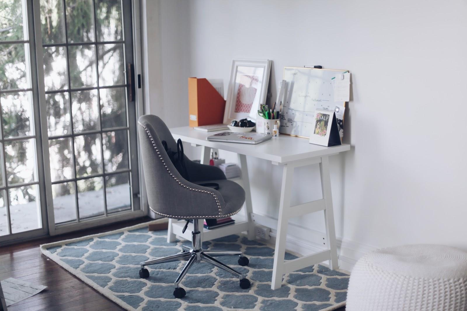 Awesome Desk Chair Joss u Main Desk Casa Moroccan Rug Safavieh via Wayfair White Board Calendar Target Couch PBTeen Faux Fur Rug