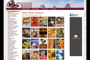 Western Mania - assortment of classic western movies.
