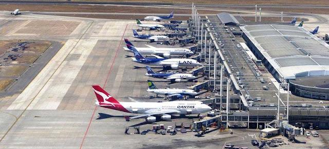 Sobre o aeroporto de Santiago