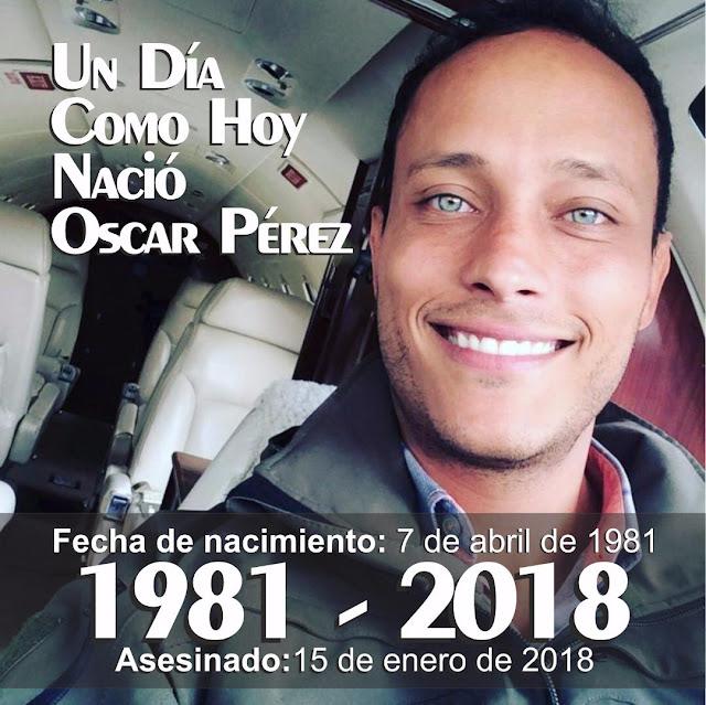 El Héroe Oscar Perez cumpliría 37 años hoy - Honores para este buen venezolano