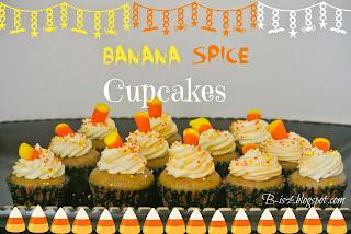 Banana Spice Cupcakes