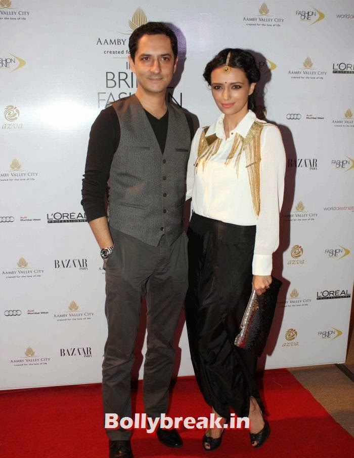 Roshni Chopra, Hot Celebs at India Bridal Fashion Week 2013