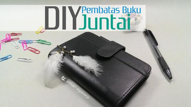 DIY Pembatas Buku Juntai (dengan Paper Clip)